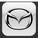 Резиновый коврик в багажник Mazda (Мазда)