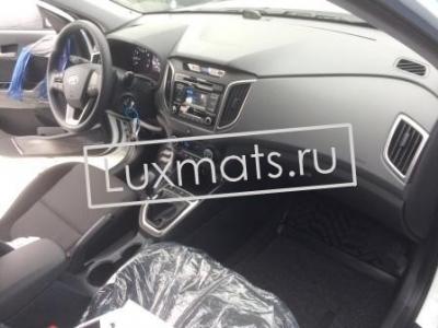 Автомобильные 3D коврики в салон для Hyundai Creta (Хендай Крета) (2016-н.в.)  с ковролином