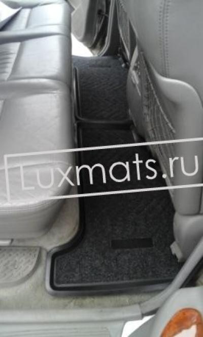 Автомобильные 3D коврики в салон для Toyota Land Cruiser 100  (Тойота Ленд Крузер 100) (1998-2007) с ковролином