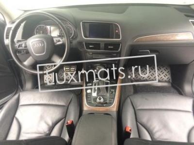 Автомобильные коврики в салон для Audi Q5 (Ауди Q5) (2008-2017)  3D с ковролином