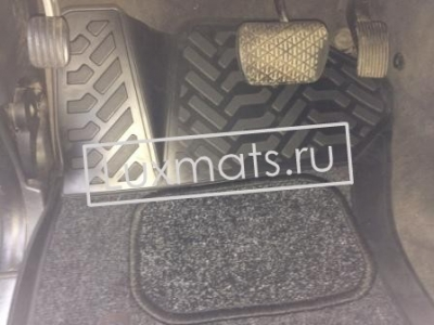 Автомобильные коврики в салон Mercedes-Benz (Мерседес) M-class W163 (1997-2005) 3D с ковролином
