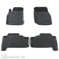 Автомобильные коврики в салон Lexus LX470 (Лексус LX470) (1998–2007) (Лейбл тойота) 3D с ковролином