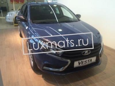 Автомобильные 3D коврики в салон Lada Vesta (Лада Веста) SD, SW, Cross с ковролином