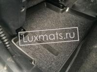 Автомобильные коврики в салон для Nissan Qashqai  (Ниссан Кашкай) New (2014-2016) англ.сборка 3D с ковролином