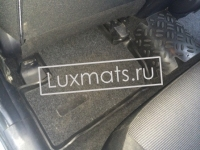 Автомобильные коврики в салон для Mitsubishi Lancer 10 (Митсубиси Лансер 10) (2007-н.в.) 3D с ковролином