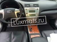 Автомобильные коврики в салон для Toyota Camry XV40 (Тойота Камри) (2006-2011) 3D с ковролином