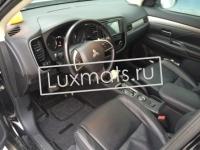 Автомобильные 3D коврики в салон для Mitsubishi Outlander New (Митсубиши аутландер) (2012-н.в.) с ковролином
