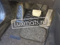 Автомобильные коврики в салон для Mazda CX-5 (Мазда СХ5) (2012-2016) 3D с ковролином