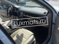 Автомобильные коврики в салон для Volkswagen (VW) Touareg II (Фольксваген Туарег 2) (2010-2015, 2015-2017) 3D с ковролином