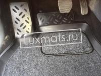 Автомобильные коврики в салон для Renault Megane III (Рено Меган 3) (2008-2015) 3D с ковролином