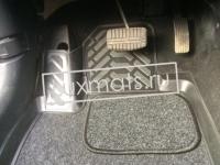 Автомобильные коврики в салон для Peugeot 4007 (Пежо 4007) (2007-2012) 3D с ковролином