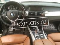 Автомобильные коврики в салон для BMW X5 (БМВ Х5) (E70) (2007-2013) 3D с ковролином