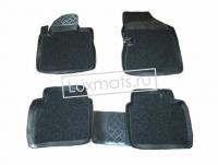 Автомобильные коврики в салон для Nissan Teana J31 (Ниссан Теана) (2003-2008) 3D с ковролином