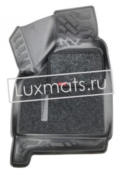 Автомобильные коврики в салон ВАЗ 2131 Нива (Lada Niva 4x4) (5 дверей) 3D с ковролином