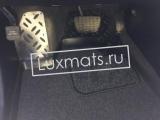 Автомобильные коврики в салон для Toyota Highlander (Тойота Хайлендер) (2010-2013) 3D с ковролином