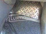 Автомобильные коврики в салон для Mitsubishi  Colt (2002-2012) (Митсубиси Кольт) 3D с ковролином