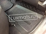 Автомобильные коврики в салон для Toyota Yaris (Тойота Ярис) (2005-2011) 3D с ковролином
