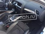 Автомобильные коврики в салон Audi A4 (Ауди А4) B8/8K (2007-2015) 3D с ковролином