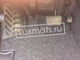 Автомобильные коврики в салон Mercedes Vito, Viano (W447)(Мерседес Вито, Виано 447 кузов) (2014-н.в.) передние 3D с ковролином
