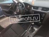 Автомобильные коврики в салон для Skoda Octavia (Шкода Октавиа) A7 (2013-н.в.) 3D с ковролином