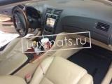 Автомобильные коврики в салон Lexus GS (Лексус GS) 2WD (2005-2011) 3D с ковролином