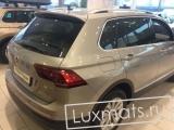 3D Автомобильные коврики в салон для Volkswagen Tiguan 2 (Фольксваген Тигуан 2)  (2016-н.в.) с ковролином