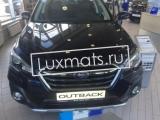 Автомобильные коврики в салон для Subaru Outback 5 (Субару Аутбек 5) (2014-н.в.) 3D с ковролином