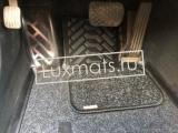 Автомобильные коврики в салон Mercedes-Benz (Мерседес) С-class W204 (2007-2015) 3D с ковролином