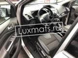 3D автомобильные коврики в салон для Ford Kuga (Форд Куга) 2 (2013-2015) дорестайлинг 3D с ковролином