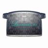 Резиновый коврик в багажник Honda Civic 5D (Хонда Цивик хэтчбек)(2011-2015)