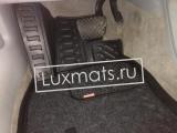 Автомобильные коврики в салон Audi A6 (Ауди А6) C7 (2011-2018) 3D с ковролином