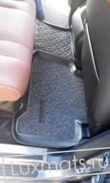Автомобильные коврики в салон для Lexus LX570 (Лексус LX570) (2012-2016) 3D с ковролином