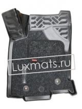 Автомобильные коврики в салон Lexus NX (Лексус NX)  (2014-н.в.) 3D с ковролином