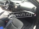 Автомобильные коврики в салон для Kia Sorento 2 (Киа Соренто 2) XM (2009-2012) 3D с ковролином