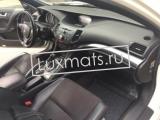 Автомобильные коврики в салон для Honda Accord 8 (Хонда Аккорд 8) (2008-2013) 3D с ковролином