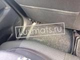 Автомобильные коврики в салон для Toyota Avensis T270 (Тойота Авенсис) (2008-2011, 2011-2015) 3D с ковролином