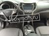 Автомобильные коврики в салон для Hyundai Santa Fe III (Хендай Санта Фе) (2012-н.в.) (5-ти местн.) 3D с ковролином