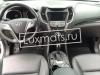 Автомобильные коврики в салон для Hyundai Grand Santa Fe (Хендай Гранд Санта Фе) (2013-) (5-ти местн.) 3D с ковролином