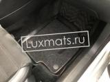 Автомобильные коврики в салон для Volkswagen Passat СС (Фольксваген Пассат CC) 2008-2016 3D с ковролином