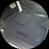 Усиленный подпятник из велюра для автомобильных ковриков